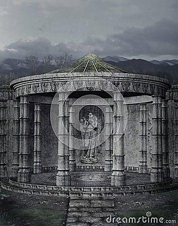 Gothic scenery 110
