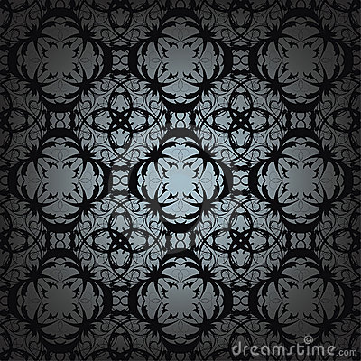 Gothic seamless pattern