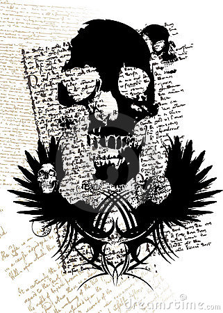 Free Gothic Skull Royalty Free Stock Photo - 3838565