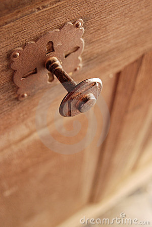 Free Gothic Style Door Knob Royalty Free Stock Images - 4106239