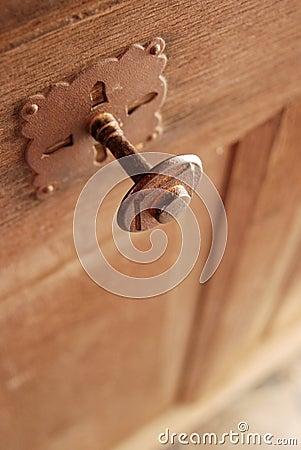 Gothic style door knob