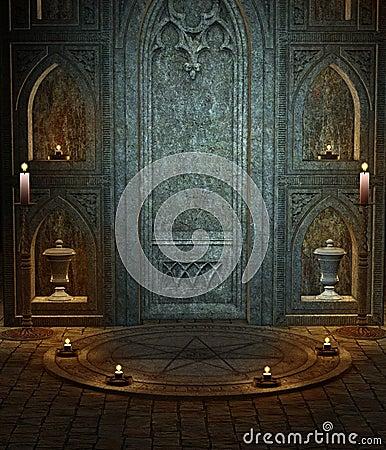 Gothic temple 3