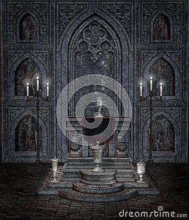 Gothic temple 5