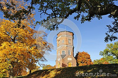 Gothic Tower Editorial Stock Photo
