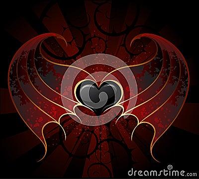 Free Gothic Vampire Heart Stock Photo - 15955460