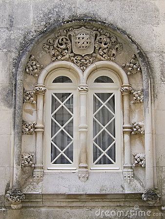 Free Gothic Window Stock Photography - 3361622