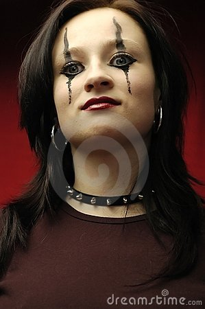 Free Gothic Woman Portrait Stock Photos - 149343