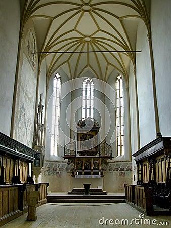 Lizenzfreies stockfoto gotische kirche in sighisoara
