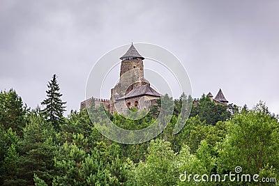 Gotisk slott Stara Lubovna