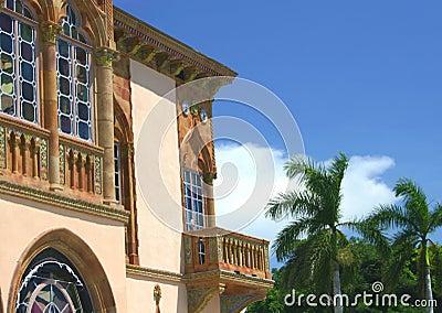 Gotiskt venetian för balkong