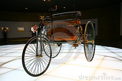 Gottlieb Daimler car creation Editorial Photography