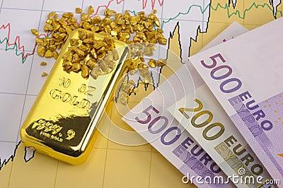 Goud en euro