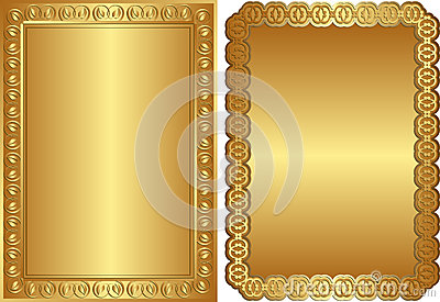 Gouden achtergronden
