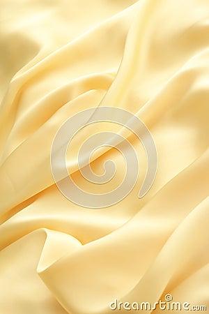Gouden golf van doek