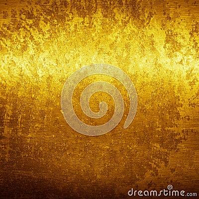 Gouden grungetextuur