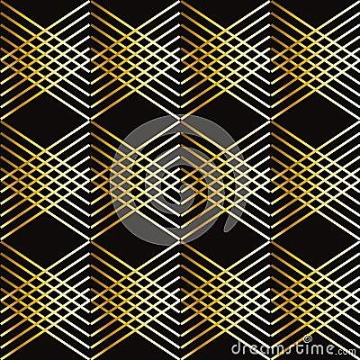 Gouden strepen geometrisch patroon vector illustratie afbeelding 67014880 - Behang grafisch ontwerp ...