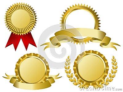 Gouden toekenningslinten
