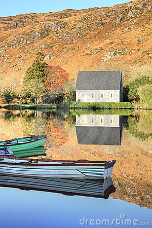 Gougane Barra, West Cork in Ireland.