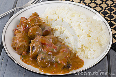 Goulash and Rice