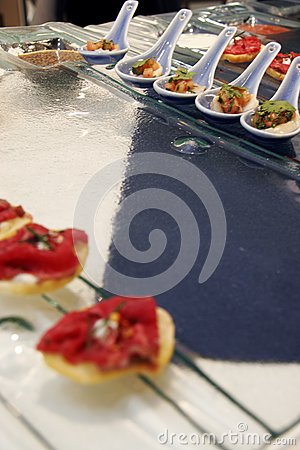 Gourmet canapes 2