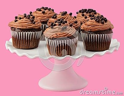 Gourmet chocolate cupcakes