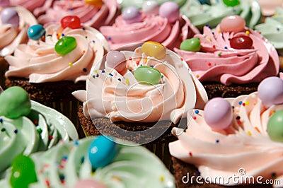 Gourmet decorated cupcakes
