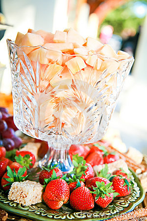 Gourmet Fruits and Cheese Treats