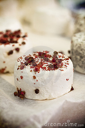 Gourmet goat cheese