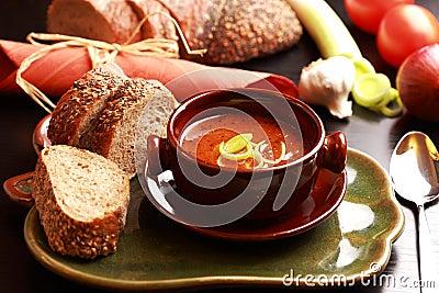 Gourmet goulash soup