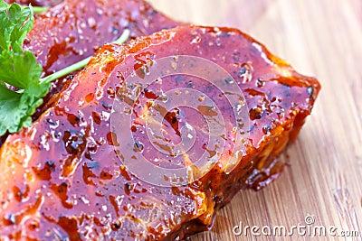 Gourmet -slices of suckling pig-raw