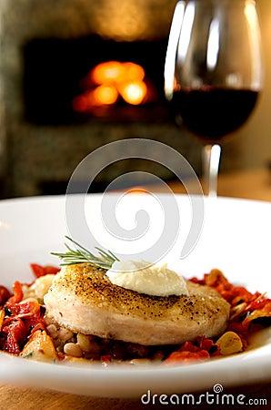 Free Gourmet Swordfish Dinner Stock Photos - 5233153