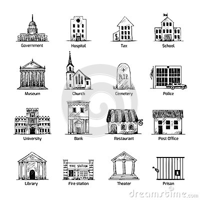 Stock Illustration Government Building Icons Set Hand Draw Style Post Cemetery Museum School Church Theater Isolated Vector Illustration Image43564955 as well Floor Plans I Love in addition Design A House Sign moreover House Plans likewise Narrow Lot House Plans India. on cape cod interior designers