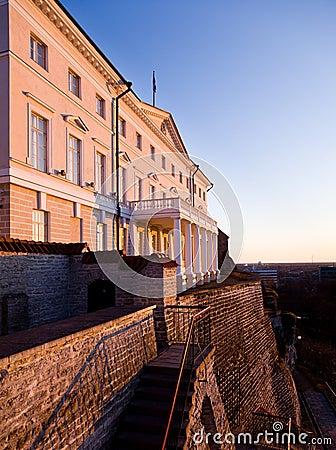 Government building in Tallinn