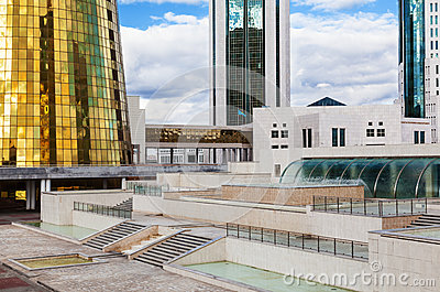 Government Buildings In Astana