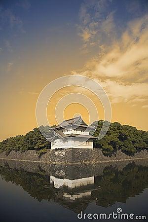 Government castle near Tokyo,