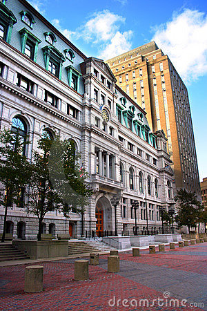 Free Government Center, Boston Royalty Free Stock Image - 2318766
