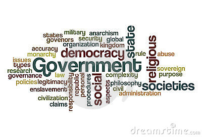 Government Word Cloud Royalty Free Stock Image Image