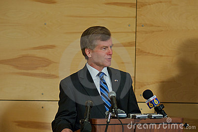 Governor Bob McDonnell VA Editorial Image