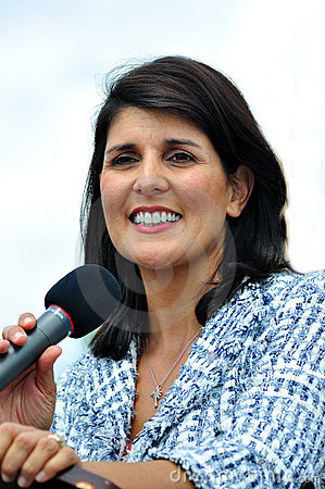 Governor Nikki Haley Editorial Stock Image