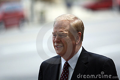 Governor of Ohio, Ted Strickland Editorial Image