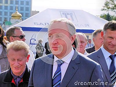 Governor Valery Radaev Editorial Image