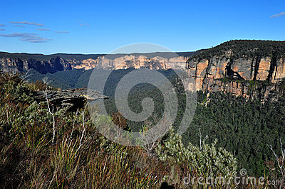 Govetts leap, blue mountains, australia