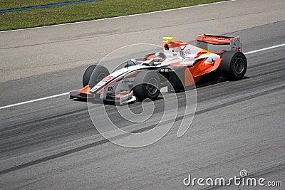 GP2 Asia Series 2009 - Kevin Nai Chia Chen Editorial Photo