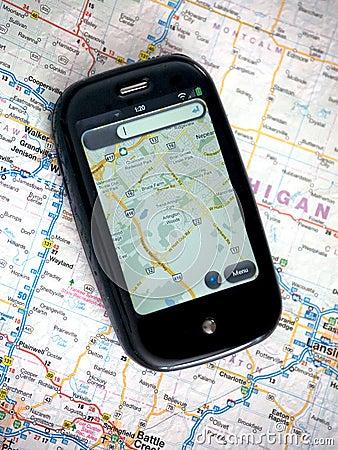 GPS Cellphone