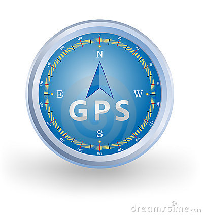 Free GPS Compass Royalty Free Stock Photo - 19128415