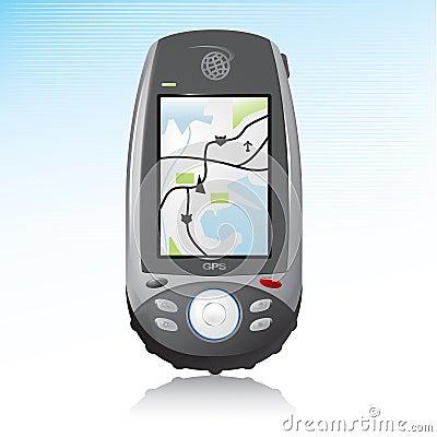 GPS Handheld Device Icon