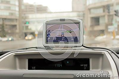 GPS navigation.