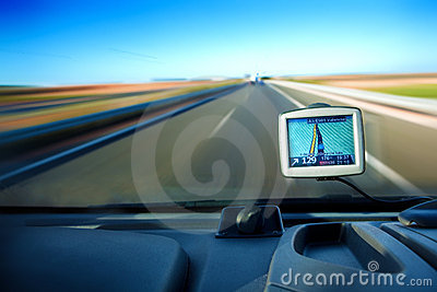 Gps and road