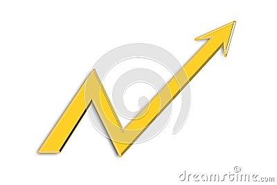 Gráfico da seta