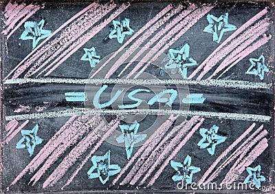Gráfico del Día de la Independencia los E.E.U.U.